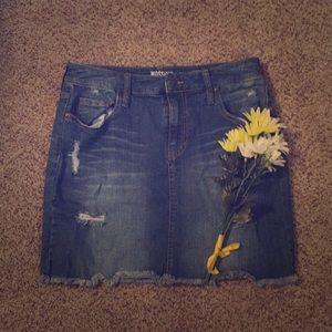 Mossimo Jean Skirt